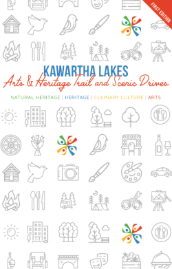 Cover of the arts and heritage trail guidebook