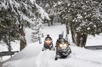 View the snowmobiling page