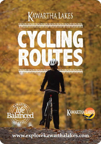 cover image of the cycling routes map